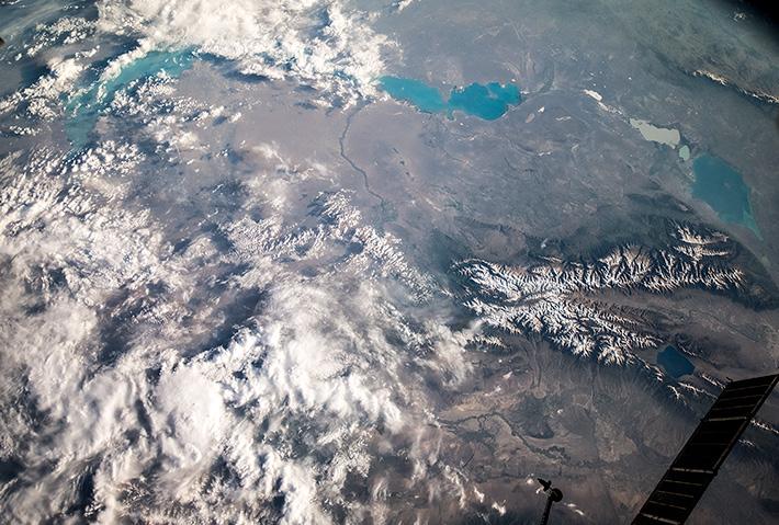 Озёра Балхаш и Алаколь. Казахстан