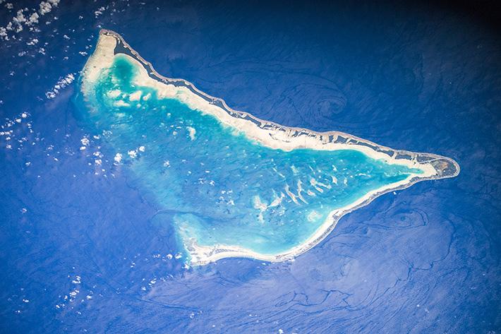 Tarawa Atoll. Republic of Kiribati