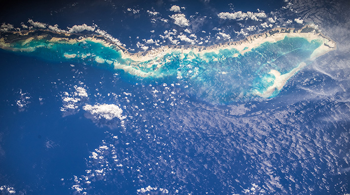 Tabiteuea Atoll. Republic of Kiribati