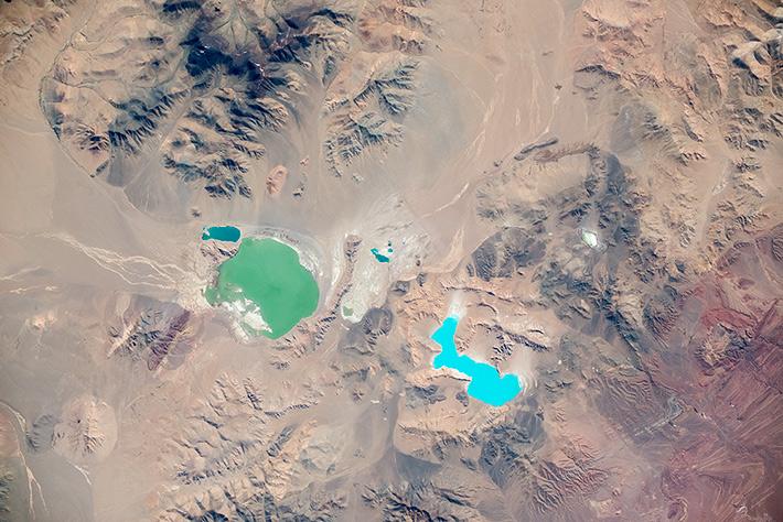 Озёра Тибета (Chamu Cuo, Kahu Cuo)