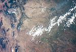 На границе штатов Нью-Мексико и Колорадо, США