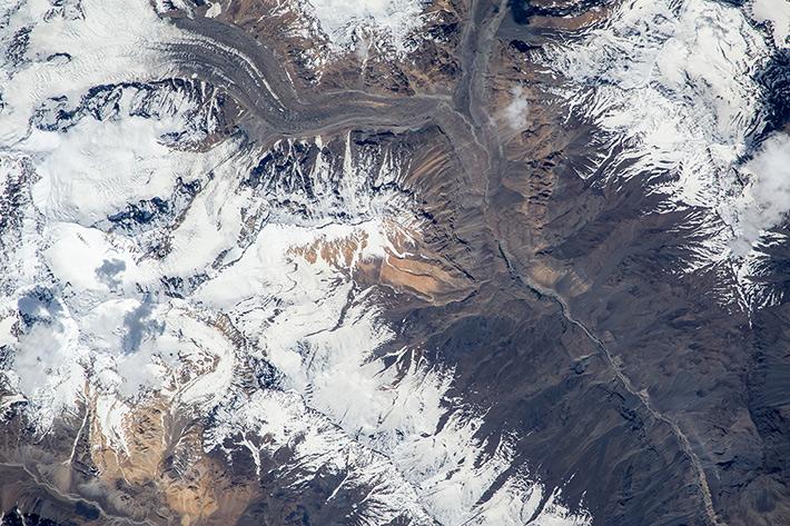 Pamir Glaciers