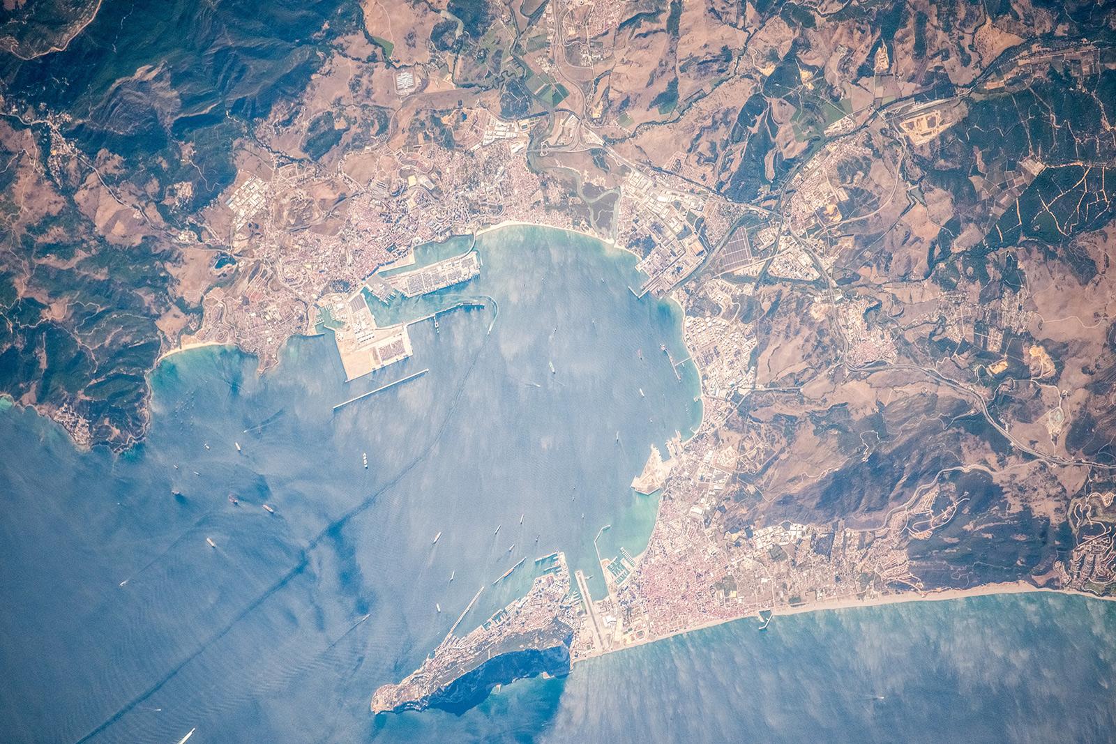 Strait of Gibraltar & Bay of Gibraltar (Bay of Algeciras)