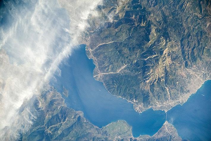 Коринфский залив, Греция