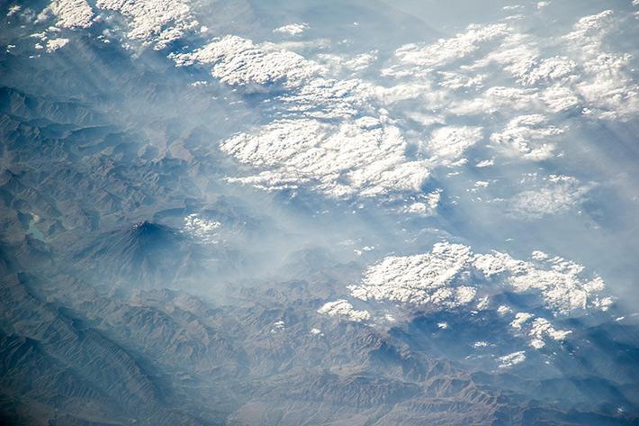 Damavand Volcano. Iran