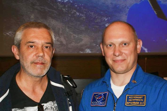 На конференции в Сарагосе с Carlos L. Borobio, автором блога laesteladegagarin.blogspot.com (@TALsite)