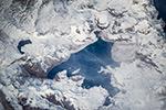 Озеро Лагуна дель Мауле. Чили