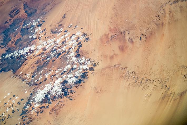 Patterns of the Sahara Desert