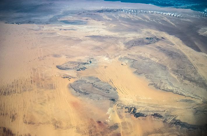 Over the Center of Egypt