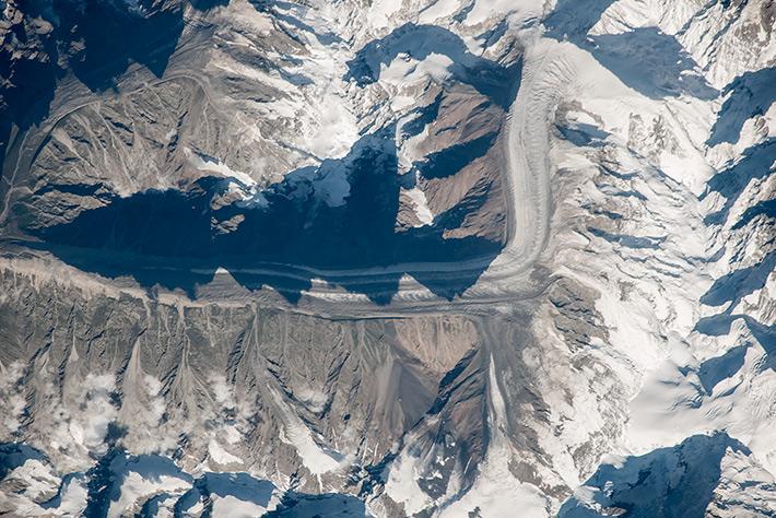 Bezengi Glacier. Kabardino-Balkaria. Russia