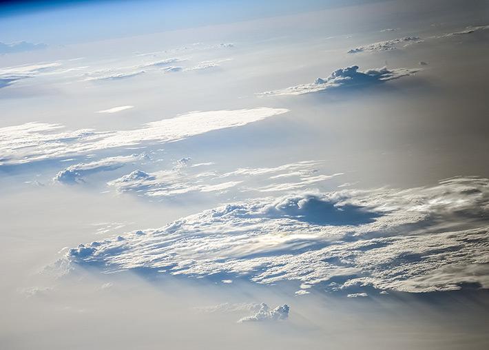 Вечерние облака