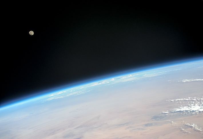 Луна над горизонтом