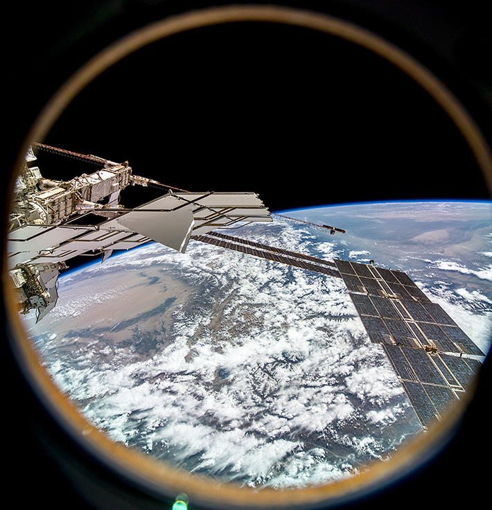 Over Tibet and the Takla Makan Desert