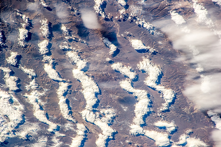 Clouds over Patagonia