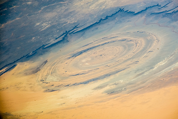 Eye of the Sahara, Africa