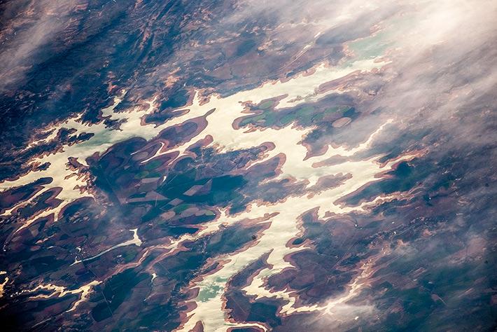 Tres Marias Reservoir, Brazil