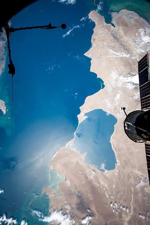 Каспийское море и залив Кара-Богаз-Гол