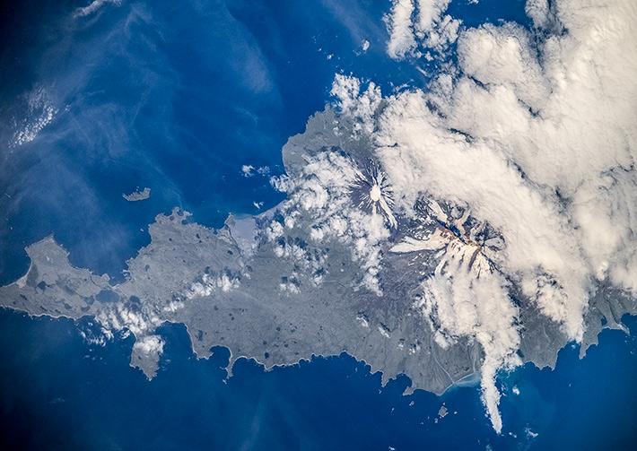 Остров Умнак, Алеутские острова