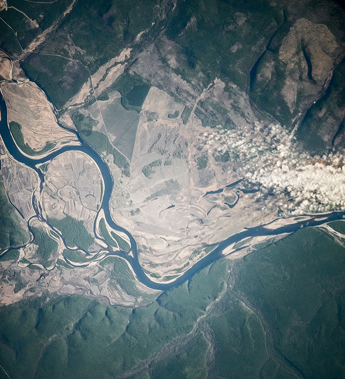 Over Amur River