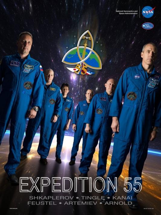 Начался новый 55-й сезон космического путешествия МКС