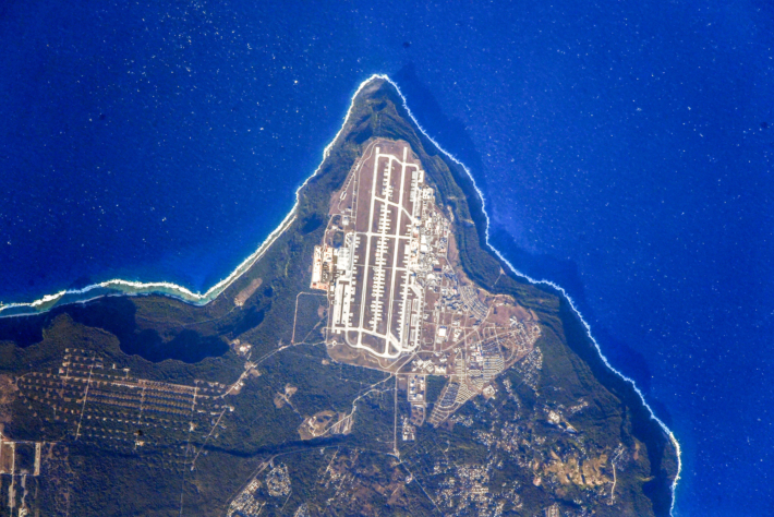 Остров Гуам. База ВВС США
