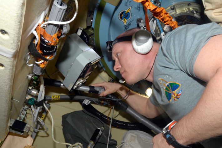 Work on ISS